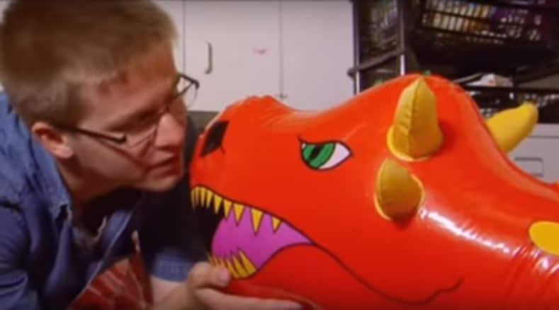 amor por dragon inflable 2