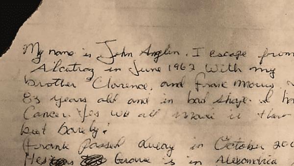 Carta Jhon Anglin
